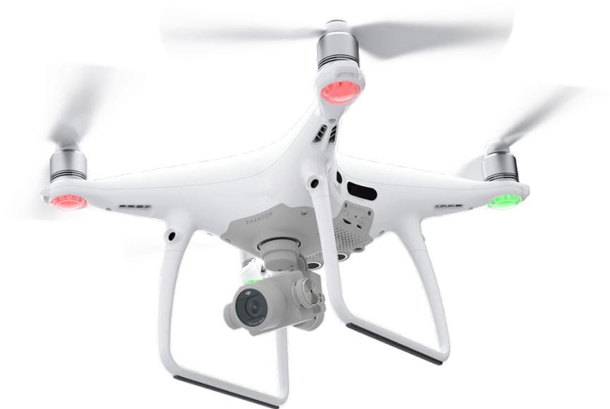 ドローン資格・免許のミライズドローンスクール 操縦イメージ PHANTOM4