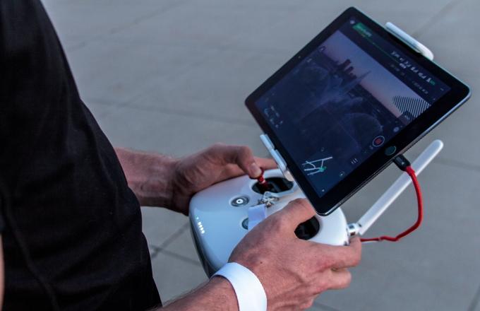 ドローン資格・免許のミライズドローンスクール JUIDA操縦技能取得コース プロポ操縦